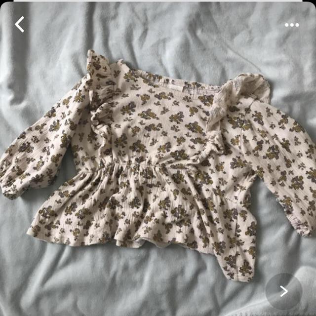 futafuta(フタフタ)のテータテート はながらチュニック キッズ/ベビー/マタニティのベビー服(~85cm)(シャツ/カットソー)の商品写真