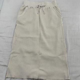 LOWRYS FARM - タイトスカート リブスカート