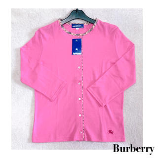 BURBERRY BLUE LABEL - 新品  Burberry Blue Label  バーバリー カーディガン