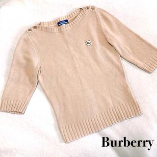 BURBERRY BLUE LABEL - 美品  Burberry Blue Label   ニット セーター