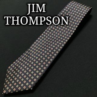 ジムトンプソン(Jim Thompson)のジムトンプソン ドット ネイビー ネクタイ A104-B26(ネクタイ)