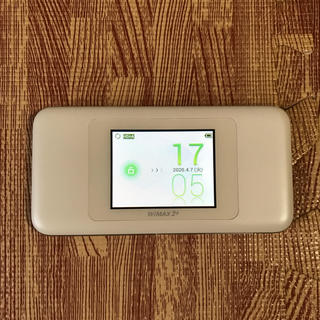 WiMAX 2+ speed wifi next W06