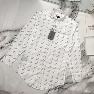 Balenciaga - [白い] メンズ長袖 バレンシアガシャツ