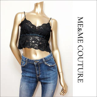 me & me couture - me & me couture レース キャミソール ビスチェ♡deicy