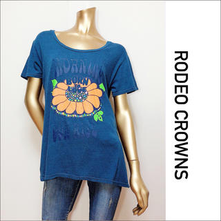 RODEO CROWNS - RODEO CROWNS カジュアル Tシャツ♡マウジー SLY バックス ザラ