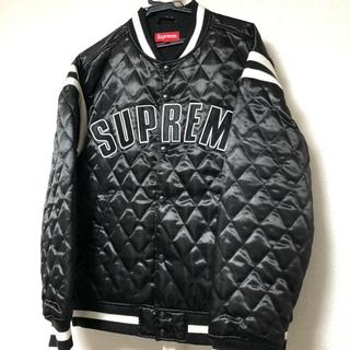 Supreme - supremeサテンジャケット