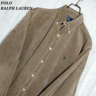 POLO RALPH LAUREN - ポロラルフローレン コーデュロイシャツ 90s オーバーサイズ アースカラー