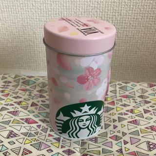 スターバックスコーヒー(Starbucks Coffee)のスタバ 桜 空き缶 小物入れ VIA(小物入れ)