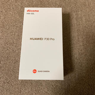 ANDROID - HUAWEI P30 Pro HW-02L Black