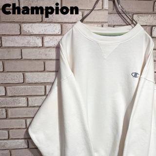 Champion - チャンピオン Champion スウェット ワンポイント 刺繍ロゴ 90s