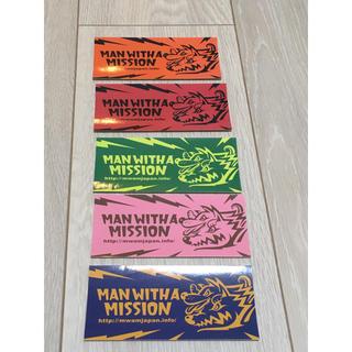 マンウィズアミッション(MAN WITH A MISSION)のマンウィズ ステッカー セット mwam(ミュージシャン)