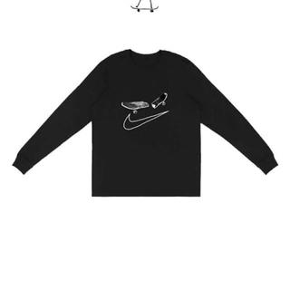 カクタス(CACTUS)のNIKE SB CACTUS JACK コラボ ロンT 黒 Mサイズ(Tシャツ/カットソー(七分/長袖))