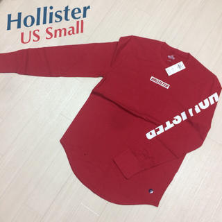 Hollister - 新品★ ホリスター HOLLISTER ボックスロゴ 長袖 Tシャツ