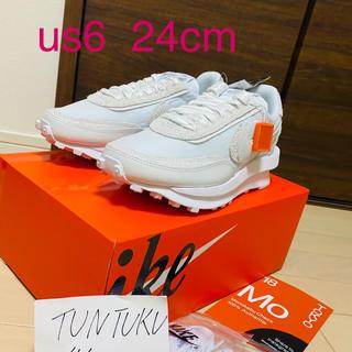 sacai - Sacai × Nike LDVWaffle 白 24cm us6