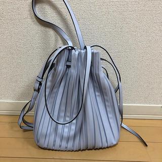 ZARA - 美品‼︎ZARAプリーツ加工入りバケットバッグ