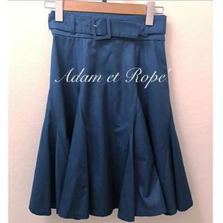 アダムエロぺ(Adam et Rope')のAdam et Rope'  美シルエットフレアースカート(ひざ丈スカート)