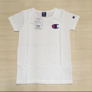 Champion - Champion チャンピオン ロゴ Tシャツ*KIDS 白 新品 150cm