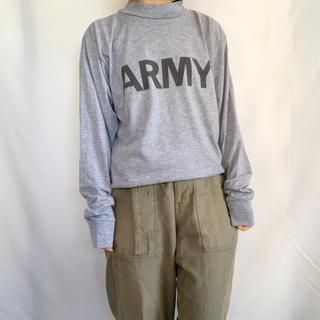 サンタモニカ(Santa Monica)のUSED ARMY モックネック長袖TEE(Tシャツ/カットソー(七分/長袖))