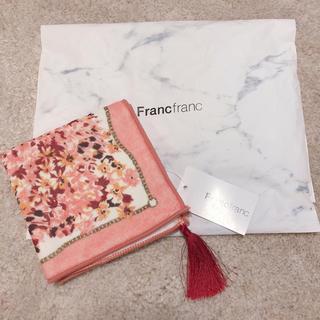 Francfranc - 新品フランフラン ハンカチタオル★タッセル付き
