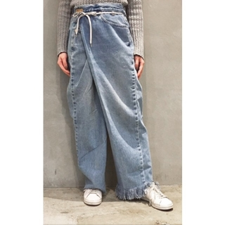 MAISON EUREKA VINTAGE REWORK BIGGY PANTS