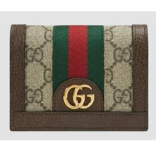 Gucci - GUCCIオフディア2つ折り財布