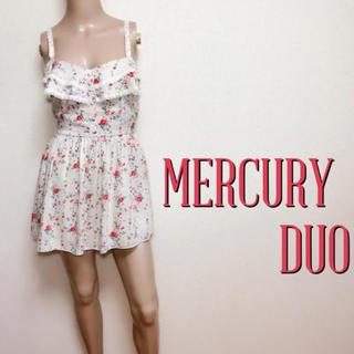MERCURYDUO - 鬼くびれ♪マーキュリーデュオ スカートパンツオールインワン♡リエンダ スナイデル