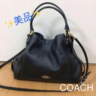COACH - 美品 【 COACH 】 コーチ 2way ハンドバッグ ショルダーバッグ