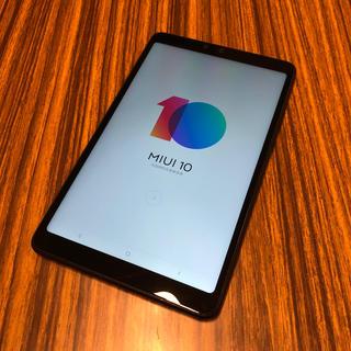 Xiaomi Mi Pad 4 64GB LTE ブラック 美品(タブレット)