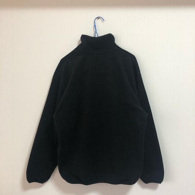 GU(ジーユー)のGU マイクロフリースプルオーバー ブラック メンズのトップス(スウェット)の商品写真