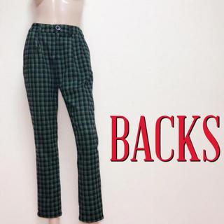 BACKS - ゆるかわ♪バックス カジュアル タッグパンツ♡マウジー ロデオクラウンズ