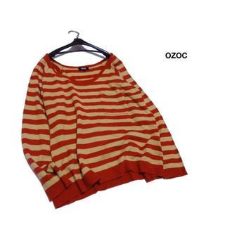 オゾック(OZOC)の◆ozoc/オゾック◆ レディース38(M位) ゆったり薄手アクリルニット(ニット/セーター)