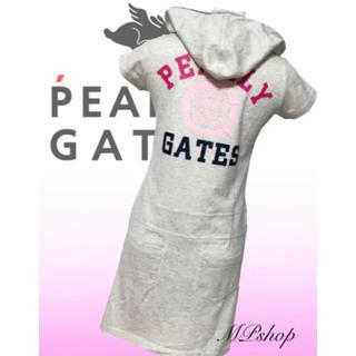 PEARLY GATES - 美品♡パーリーゲイツ  半袖  ゴルフワンピース  レディース  ゴルフウェア