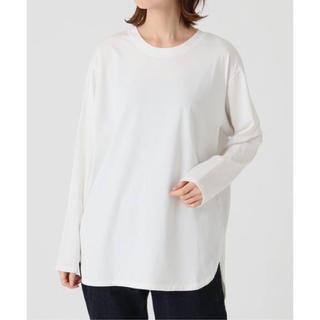 イエナ(IENA)のIENA ラウンドテールTシャツ(Tシャツ/カットソー(半袖/袖なし))