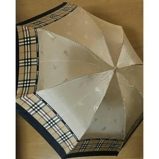 BURBERRY - バーバリーズ 折り畳み傘 雨傘 未使用