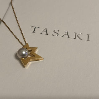 TASAKI - 美品 販売証明書あり タサキ  あこや真珠 コメットネックレス  田崎真珠