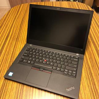 レノボ(Lenovo)のThinkPad T480 i5-8350u 256GB/16GB Win10P(ノートPC)