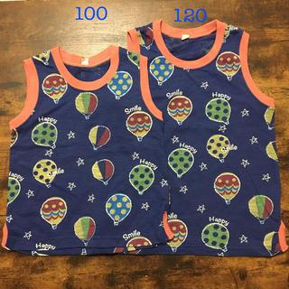 ニシマツヤ(西松屋)の男の子 タンクトップ お揃いコーデ 100 120(Tシャツ/カットソー)