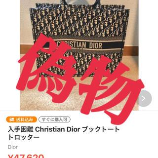 Dior - Christian DIOR   キャンバスバッグ
