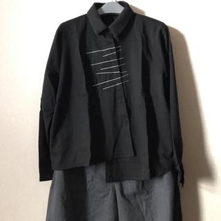 ZARA - 【男女兼用】デザイン シャツ ★ コムデギャルソン y's ZARA 好きな方へ