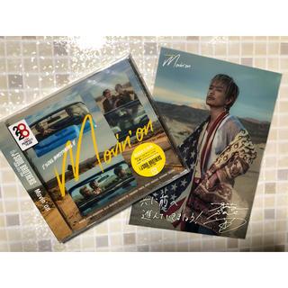 三代目 J Soul Brothers - Movin' on 三代目 CD 今市隆二 2Lサイズカード 付き