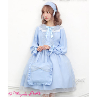 Angelic Pretty - Angelic pretty Eternal Doll ワンピース サックス