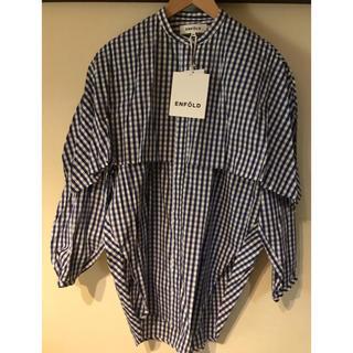 ENFOLD - ★新品未使用★ENFOLD チェックシャツ