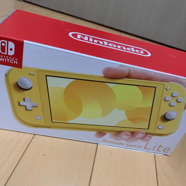 Nintendo Switch(ニンテンドースイッチ)のNintendo Switch Lite イエロー エンタメ/ホビーのゲームソフト/ゲーム機本体(家庭用ゲーム機本体)の商品写真