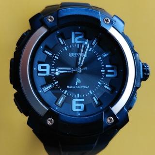 maruman GREENWICH JJY 40/60KHZ電波腕時計