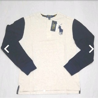 ポロラルフローレン(POLO RALPH LAUREN)のポロラルフローレン ヘンリーネック シャツ 160(ポロシャツ)