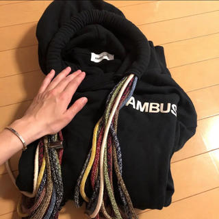 アンブッシュ(AMBUSH)のambush パーカー 18aw(パーカー)