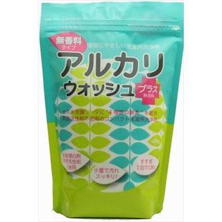売切れ日本製 アルカリウォッシュプラス 洗濯洗剤 無香料 600g ちのしお社 (洗剤/柔軟剤)
