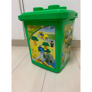 Lego - レゴ デュプロ LEGO DUPLO 【7337】緑のバケツ +a 完全品