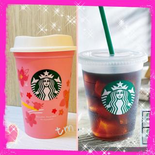 Starbucks Coffee - SALE❗️スターバックス☆リユーザブルカップ☆サクラ&コールド専用☆2個セット