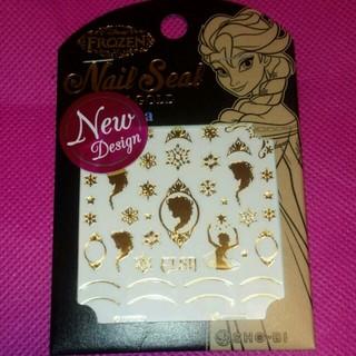 ディズニー(Disney)のアナと雪の女王♡ネイルシール(ネイル用品)